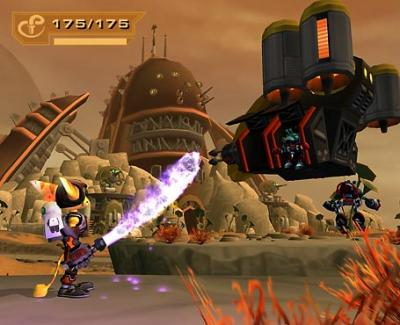 Screen ze hry Ratchet & Clank: Up Your Arsenal